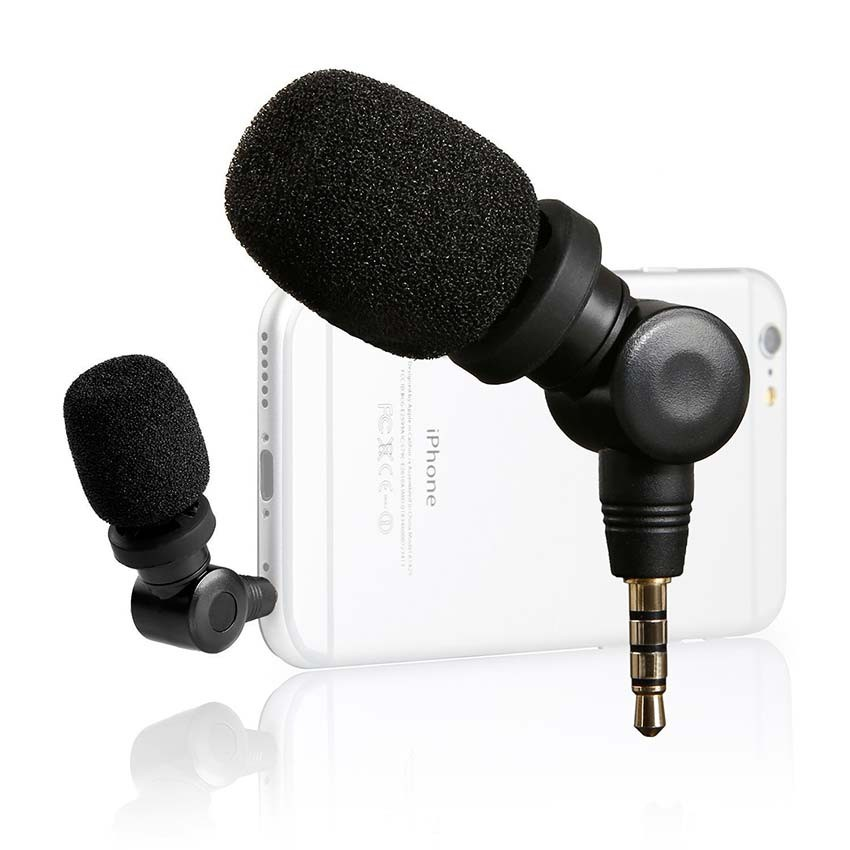 SmartMic Condenser Microphone for  SmartMic รีวิวไมค์เล็กสำหรับมือถือ  Vlog