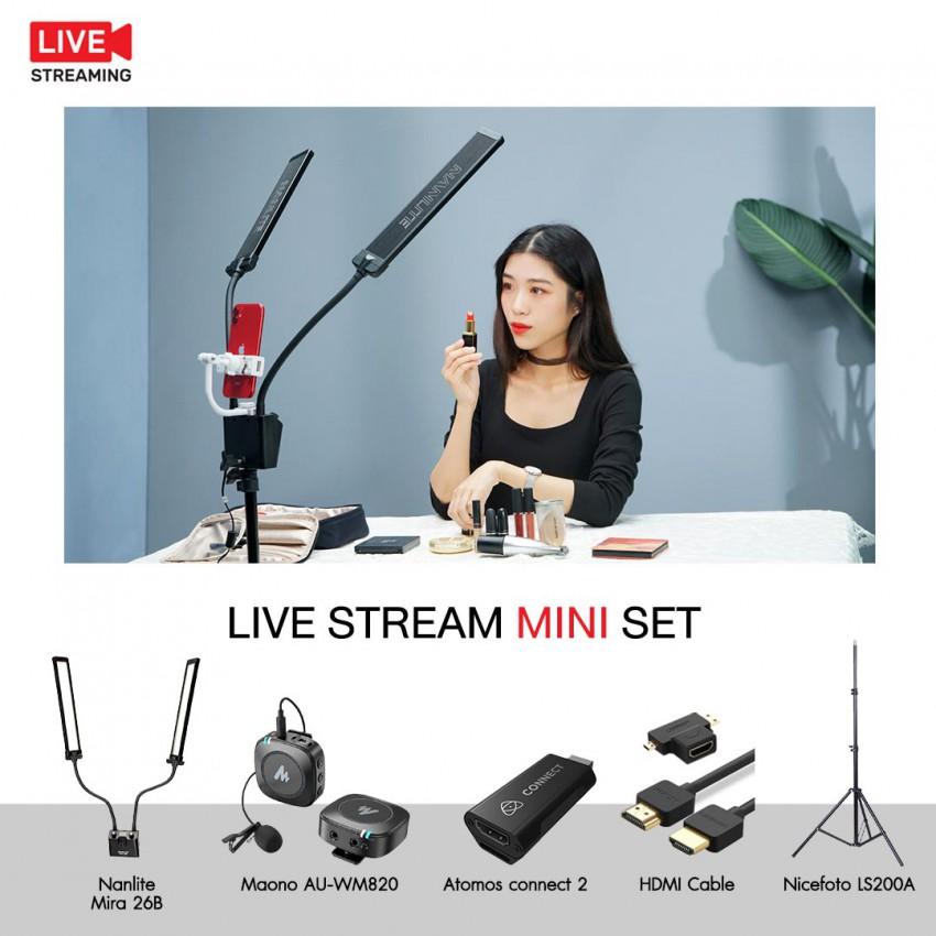 Live Stream Mini Set ชุดอุปกรณ์ไลฟ์สตรีม ประกันศูนย์ไทย