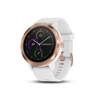 Garmin vívoactive® 3 Rose Gold GPS Smartwatch พร้อมที่วัดอัตราการเต้นหัวใจจากข้อมือ
