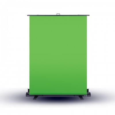 ELGATO กรีนสกรีนตั้งพื้น ก148xส180cm GAMING PORTABLE GREEN SCREEN