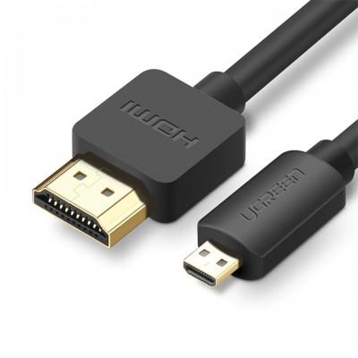Ugreen Micro HDMI to HDMI 2.0 4K 3D ยาว 1.5 เมตร ประกันศูนย์