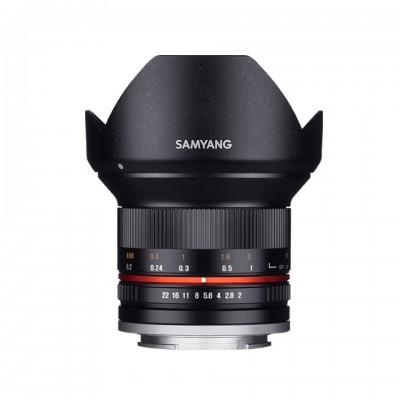 Samyang 12mm F2.0  (4/3) Black ศูนย์ไทย