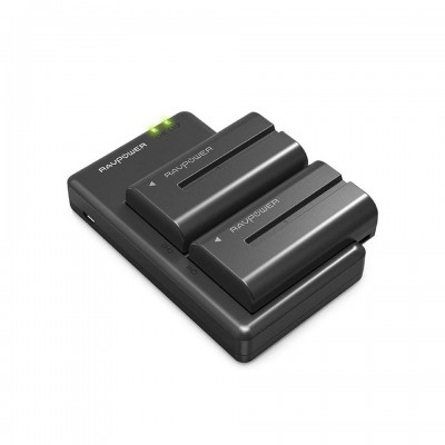 Ravpower NP-F550 Battery For Sony x2 พร้อมแท่นชาร์จ ประกันศูนย์ไทย