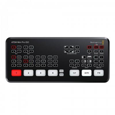 Blackmagic Design ATEM Mini Pro ISO Switcher พร้อม Multiview ในตัว ประกันศูนย์ไทย 1 ปี