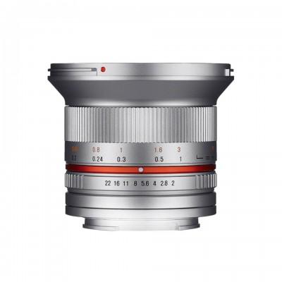 Samyang 12mm F2.0  (4/3) Silver ศูนย์ไทย