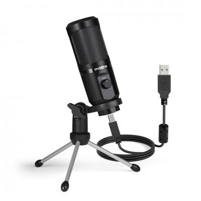 MAONO AU-PM461TR Portable USB Gaming Microphone with Mic Gain ประกันศูนย์ไทย