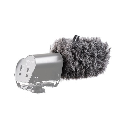 Furry outdoor microphone windscreen muff for Vmic & Vmic Recorder