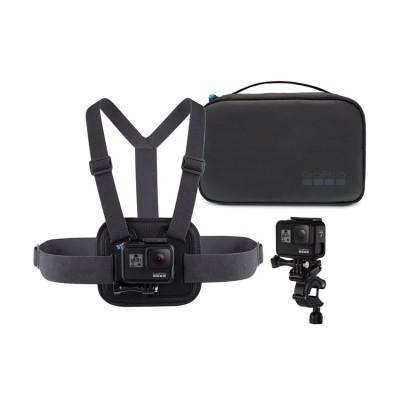GoPro Sport Kit กระเป๋า Compase Case, คาดอก Chesty, ติดแฮนด์ Pole Mount