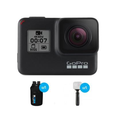Hero 7 Black แถมฟรี กระเป๋าเป้กันน้ำลิขสิทธิ์แท้ GoPro 30L Dry Bag, GoPro shorty
