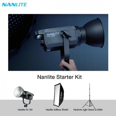 NANLITE Starter Kit  ชุดไฟเริ่มต้นพร้อมใช้งาน ประกันศูนย์ไทย