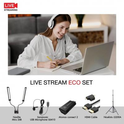 Live Stream Eco Set ชุดอุปกรณ์ไลฟ์สตรีม ประกันศูนย์ไทย