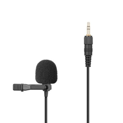 Saramonic SR-UM10-M1 Replacement Lavalier Microphone with Locking 3.5mm Male for Saramonic UwMic9, UwMic10, Uw<ic10TH, UwMic11TH, VmicLink5, UwMic15
