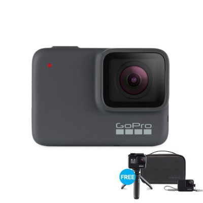 hero 7 Silver 10MP 4K 30FPS ฟรี Travel Kit