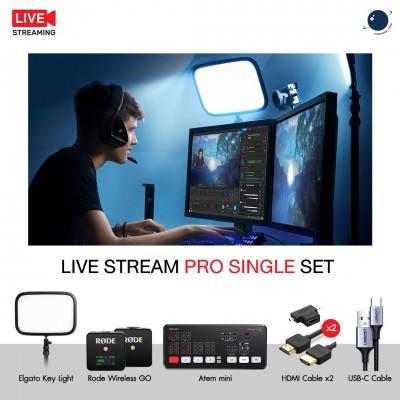 Live Stream Pro Single Set ชุดอุปกรณ์ไลฟ์สตรีม ประกันศูนย์ไทย
