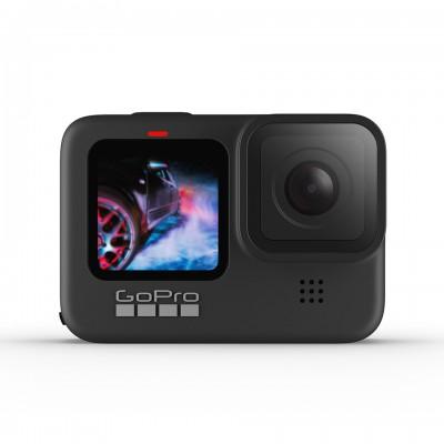 Gopro Hero 9 Black Travel Set 2 (Sandisk Extreme Pro 64GB, GoPro 3 Way, แท่นชาร์จ และ แบตเตอรี่ GoPro) ประกันศูนย์ไทย