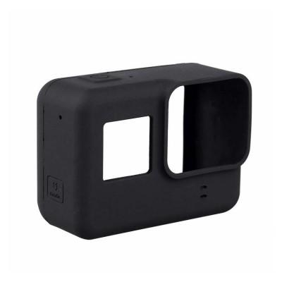 เคสยางพร้อมฝาปิดเลนส์ สำหรับ GoPro 5/6/7 Black