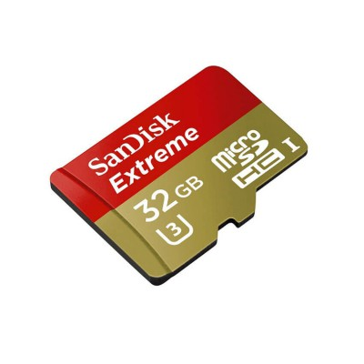 32 GB MICRO SDXC CARD SANDISK EXTREME CLASS10