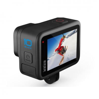 GoPro Hero 10 Black Travel Set 2 (Sandisk Extreme Pro 64GB, GoPro 3 Way, แท่นชาร์จ และ แบตเตอรี่ GoPro) ประกันศูนย์ไทย