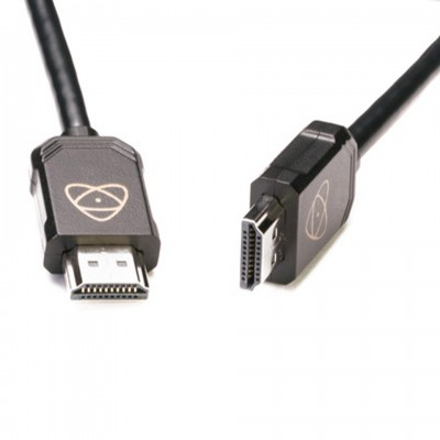 Atomos AtomFLEX HDMI (Type-A) Male to HDMI (Type-A) Male Coiled Cable (12 to 24″) 30CM – 60CM  ประกันศูนย์ไทย