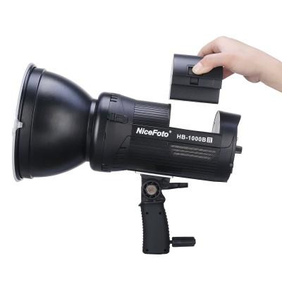 Nicefoto HB-1000Bii LED 100w 5500k แบตเตอรี่ในตัว  (ไม่รวม AC Adapter PW-20)