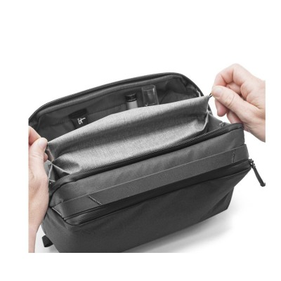 Wash Pouch :  กระเป๋าสำหรับเก็บอุปกรณ์ในห้องน้ำ