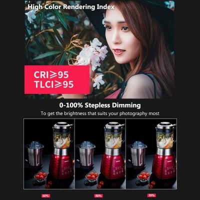 NiceFoto HC-1000SB LED 100W 5600K สีตรง CRI95+ TLCI95+ ประกันศูนย์ไทย
